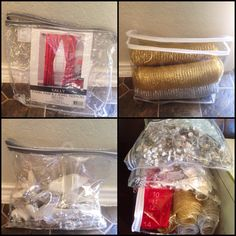 Reuse plastic zipper bags from purchased curtains or bedding sheets to store Christmas decorations. Easy & Uses for Zippered Sheet Blanket and Comforter Bags | Pinterest ...
