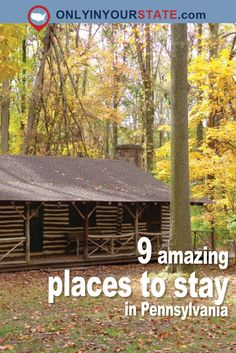 Travel | Pennsylvania | Attractions | Sites | Adventure | Unique | Activities | Things To Do | Overnight | Accommodations
