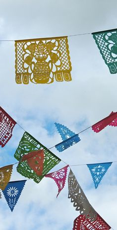 Festival Flags - Frome Somerset by angela saxbee, via Flickr