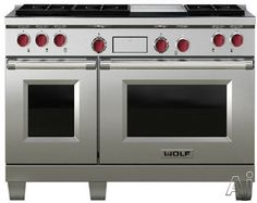 Wolf range cooker