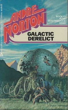 Galactic Derelict by Andre Norton. This is book 2 of the Time Traders series.