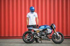 Fuel Tank TV: Smoked Garage | Kawasaki ER6N Café Racer — Fuel Tank