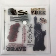 Home of the Brave Close to My Heart My Acrylix Stamp Set Statue of Liberty Home Of The Brave, Close To My Heart, Statue Of Liberty, Stamp, Things To Sell, Free, Ebay, Statue Of Liberty Facts, Statue Of Libery