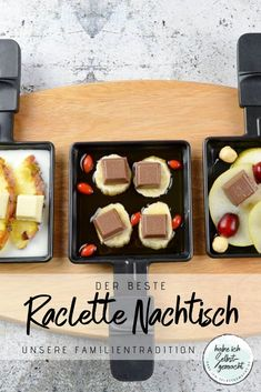 The best raclette Der beste Raclette Nachtisch You don't need dessert with raclette? I will convince you otherwise! Today I tell you our long-standing family tradition when it comes to raclette desserts! Thanksgiving Appetizers, Thanksgiving Sides, Holiday Appetizers, Thanksgiving Recipes, Holiday Recipes, Dessert Simple, Beaux Desserts, Fun Desserts, Paleo Dessert