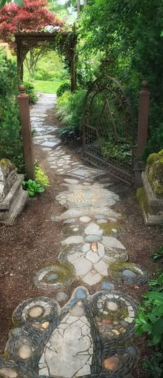 10 Gravel Garden Design Ideas, Most of the Incredible as well as Lovely Path Design, Landscape Design, Garden Design, Design Ideas, Forest Landscape, Blog Design, Gravel Garden, Garden Stones, Moss Garden