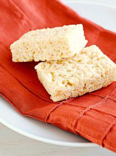 Crispy Rice Treats: Gluten-Free ◊ Dairy-Free ◊ Egg-Free ◊ Nut-Free ◊ Corn-Free (for my GF friends)