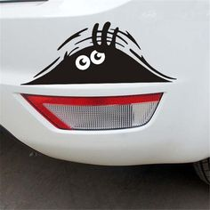 Cute Peeking Monster for Cars Walls Funny Sticker Graphic Vinyl Car Decals 2.39