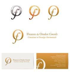 Branding and basic stationary for Finazzo de Orador Conseils Company (2013)