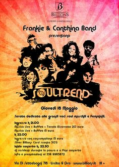 Soultrend ! Con Frankie & Canthina Band !