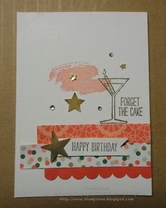 Birthday Challenge (Stampin' & Scrappin' with Stasia)