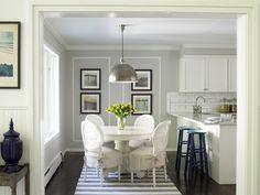 East Hampton Cottage - Beach Style - Kitchen - new york - by Joshua Smith Inc