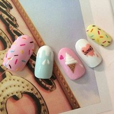 Pretty Nail Art, Cute Nail Art, Summer Acrylic Nails, Best Acrylic Nails, Stylish Nails, Trendy Nails, Nagellack Design, Nail Art Designs Videos, Nails For Kids