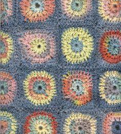 Ravelry: Circles Crochet Blanket pattern by Amanda Perkins