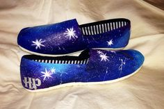 Harry Potter Shoes - Glow in the Dark (Women's) on Etsy, $58.00