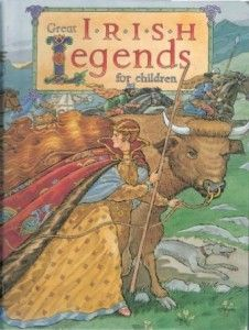 We have tons of ancient Irish myths and legends here, in Ireland.