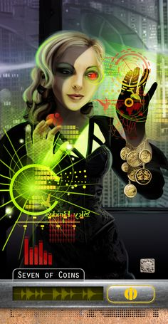 Wow! More of Echo's work.  Catalyst Game Labs : Shadowrun Tarot