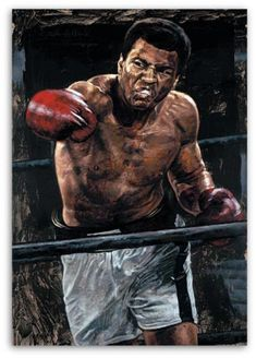 Muhammad Ali in his Prime by Stephen Holland