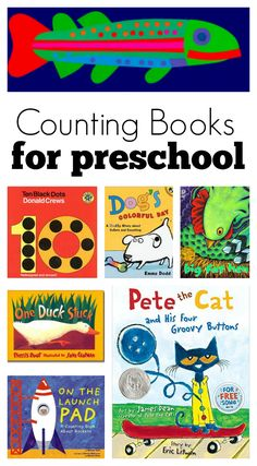 A fun roundup of counting books for preschoolers! A great addition to any classroom still learning their numbers!