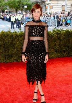 Still in love with Alexa's Rochas look from the Met Ball