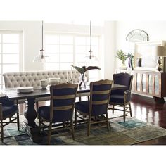 Merveilleux Andrea French Country Tufted Sand Long Dining Bench Banquette