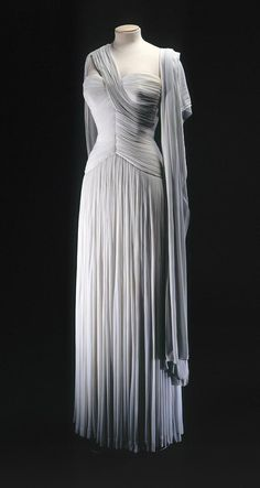 Madame Gres; robes drapées inspiration grece antique