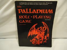 The classic 1986 Palladium Fantasy Role-Playing Game rulebook