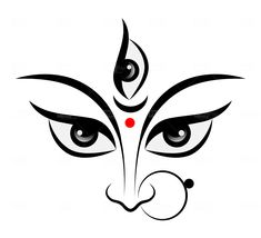 Goddess Art, Durga Goddess, Maa Durga Photo, Happy Navratri Images, Durga Painting, Lord Shiva Statue, Psychedelic Drawings, Mandala Art Lesson, Bird Quilt