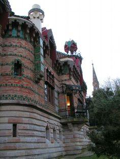El Capricho de Gaudí. Comillas (Cantabria-España)