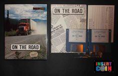 JUEGO ATARI ST ON THE ROAD (RARO/RARE) LIFETIMES, NO TESTED