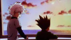 Hisoka, Gon Killua, Best Friendship, Black And White Drawing, Hunter X Hunter, Cute Drawings, First Love, Anime Art, Manga