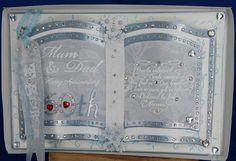 Bookatrix card diamond wedding anniversary.