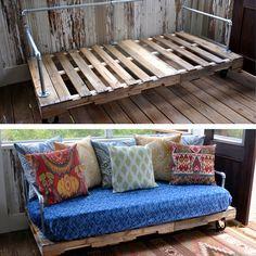 Būdai, kaip paletes paversti naudingais baldais | Domoplius.lt