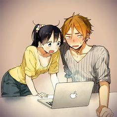 Safebooru is a anime and manga picture search engine, images are being updated hourly. Manga Couple, Anime Love Couple, Anime Couples Manga, Anime Guys, Manga Anime, Super Easy Drawings, Tamako Market, Tamako Love Story, Cute Anime Coupes