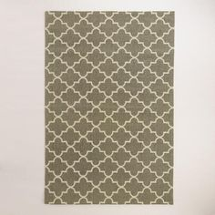 One of my favorite discoveries at WorldMarket.com: Taupe Moroccan Jute Boucle Emy Area Rug