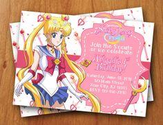 Sailor Moon Crystal digital birthday by ThePurpleMonkeyShop