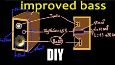 How to get better bass from speakers, build your own speakers kit