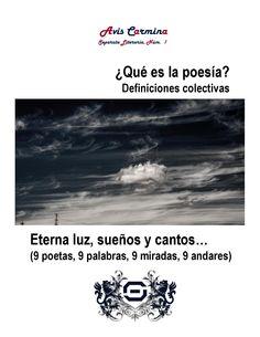 Avis Carmina. Poesía Colectiva. Enero/ Luis Lunes. Abril de 2014
