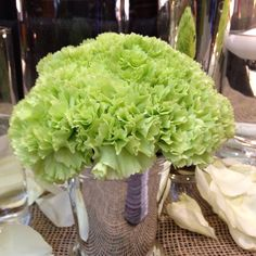 Coloring Carnations Green For St.