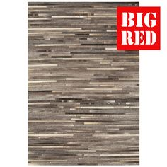 Stripe Dark Grey   Gaucho: Asiatic Rugs - Best prices in the UK from The Big Red…