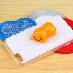 Just in to our phone case collection! Kawaiiiii :3 Gudetama Realistic Steamed Rice Hard iPhone Case Cover - 4 Different Styles