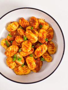 Vegetarian Recipes, Healthy Recipes, Gnocchi, Desert Recipes, Raw Vegan, Bon Appetit, Shrimp, Grilling, Deserts