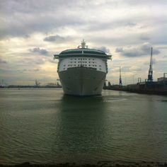 Independence leaving Southampton