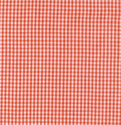 """Fabric Finders, Inc. 1/16"""" Paprika Gingham"""