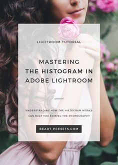 USING LIGHTROOM'S HISTOGRAM FOR BETTER PICTURES via @BeArtPresets  Understanding how the Histogram works can help you in two ways: while you're taking a live shot and later while editing the photo. The histogram is an invaluable tool for any photographer during post-processing in Lightroom. You can use the histogram to provide instant information before you take the shot to let you make on the spot adjustments to the image.
