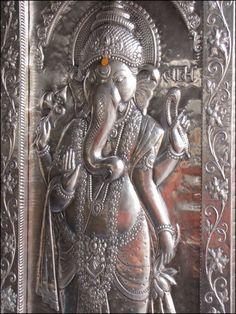 .Silver Ganesh.