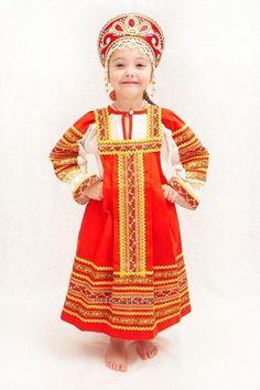 Русский народный костюм для девочек картинки