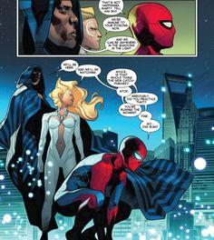 Cloak & Dagger in The Amazing Spider-Man #8 (2016) - Matteo Buffagni