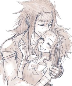 Fairy Tail - Gajeel and Levy (future) Fairy Tail Ships, Gale Fairy Tail, Fairy Tales, Fairy Tail Fotos, Fairy Tail Images, Anime Fairy, Awesome Anime, Anime Love, Gajeel Und Levy