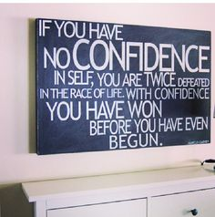 Confidence is key! Marcus Mosiah Garvey Jr