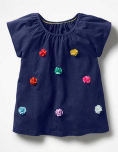635570eced Fluttery Flower Top Boden Girls Dresses